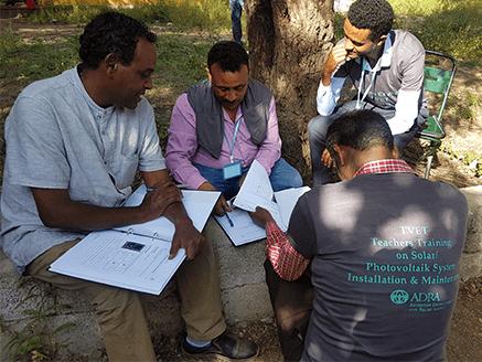 solar training for TVET in ethiopia