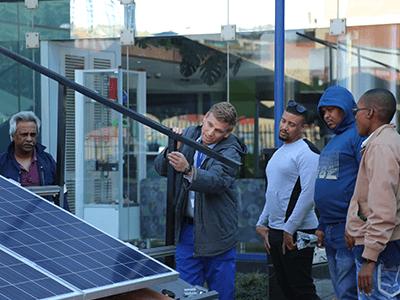 Practical solar training