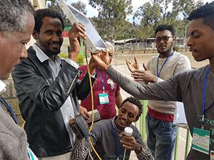 solar training Ethiopia, Mekele