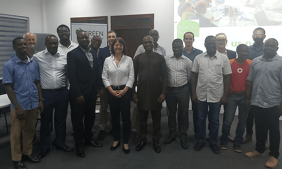 GREEN SOlar Academy Ghana Launch in Accra