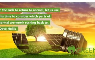 green solar academy lockdown