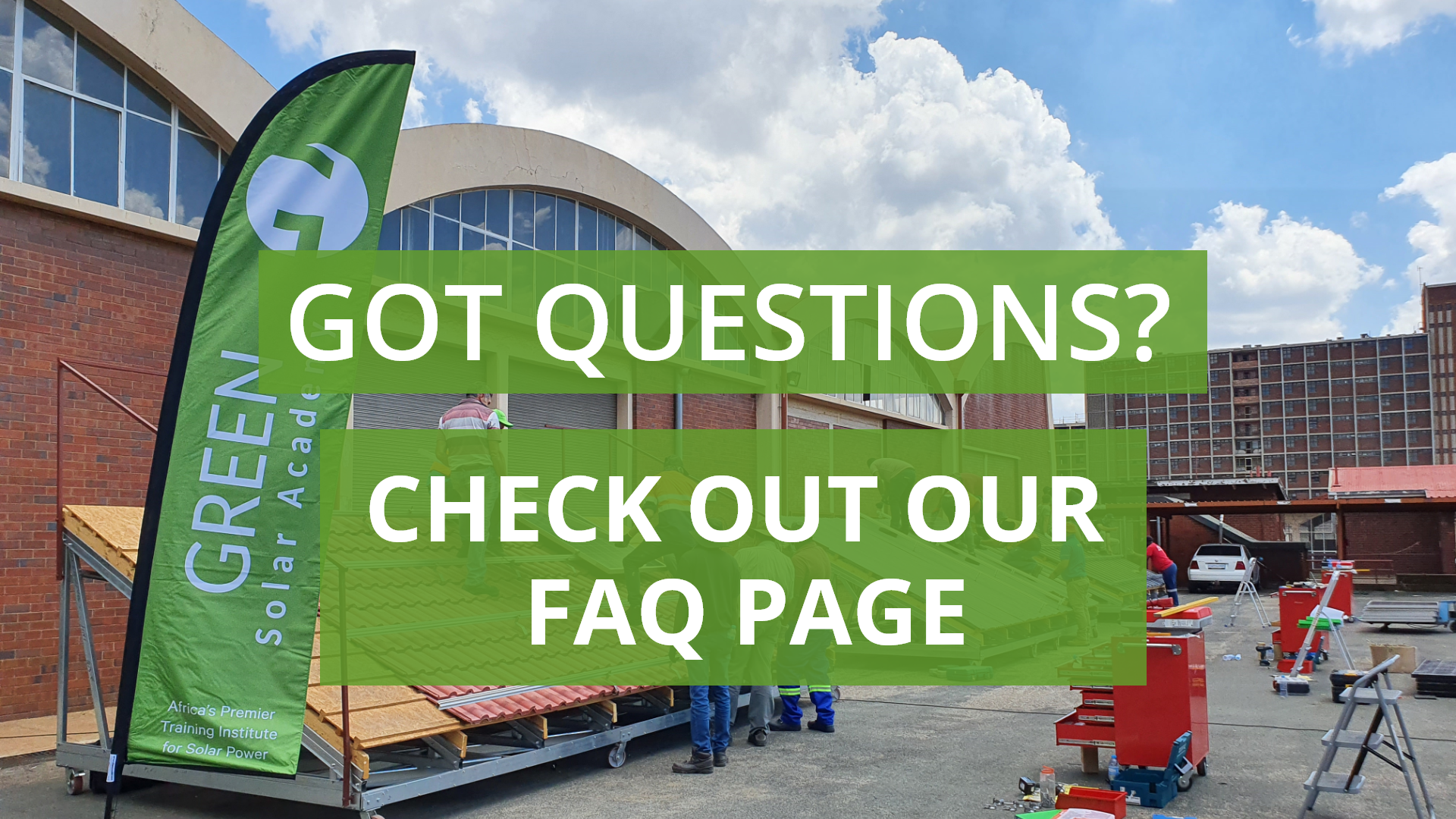 Got any questions? Check out our new FAQ page