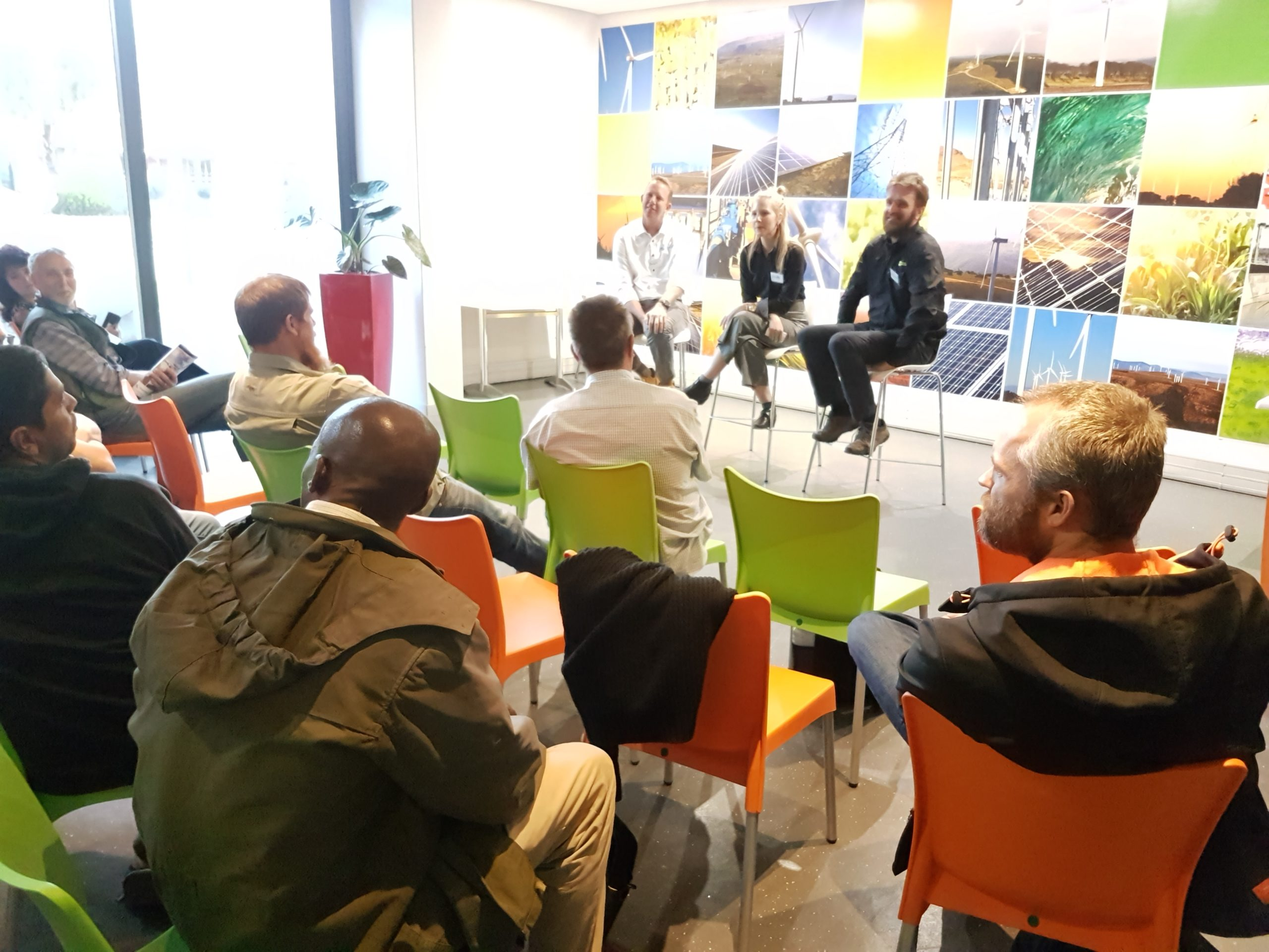 What is the GREEN Solar Academy Alumni Meeting?