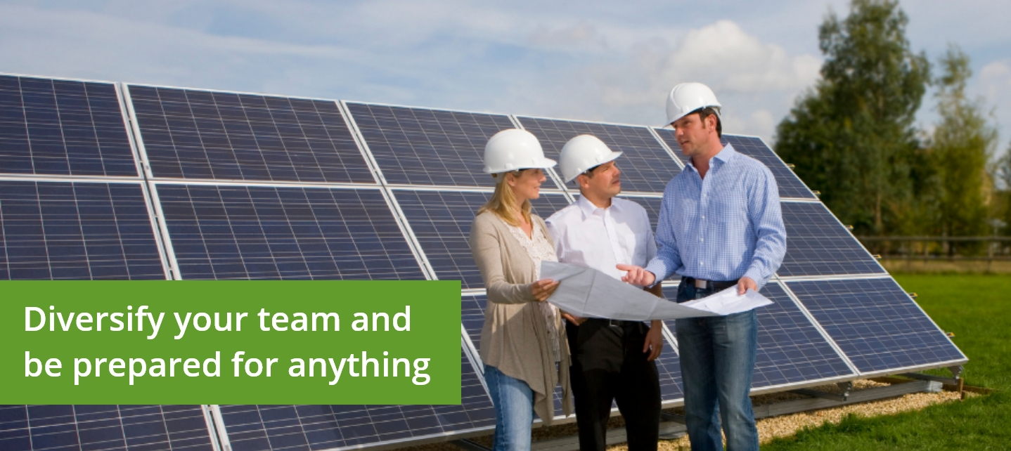Why are women needed in the solar industry?
